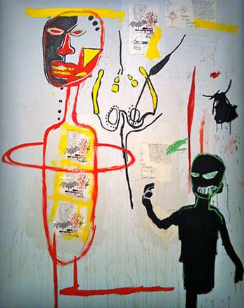 BASQUIAT Jean-Michel, Skin Flint, 1984