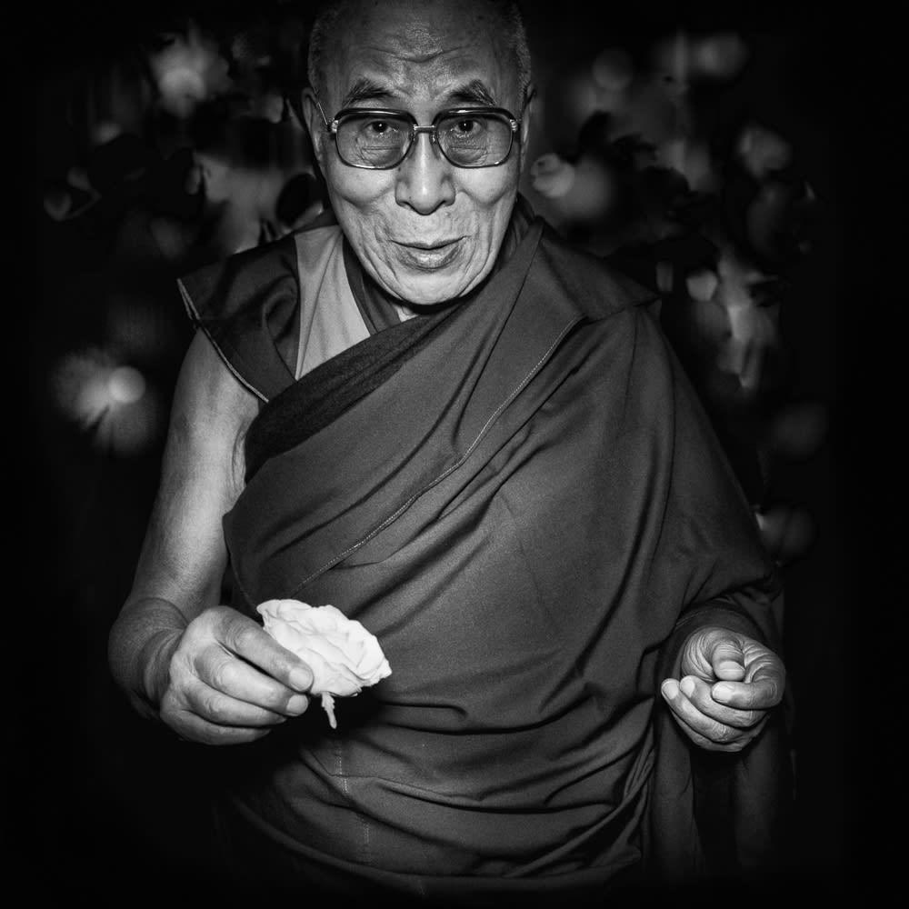 Stuart Robertson, Tenzin Gyatso the 14th Dalai Lama