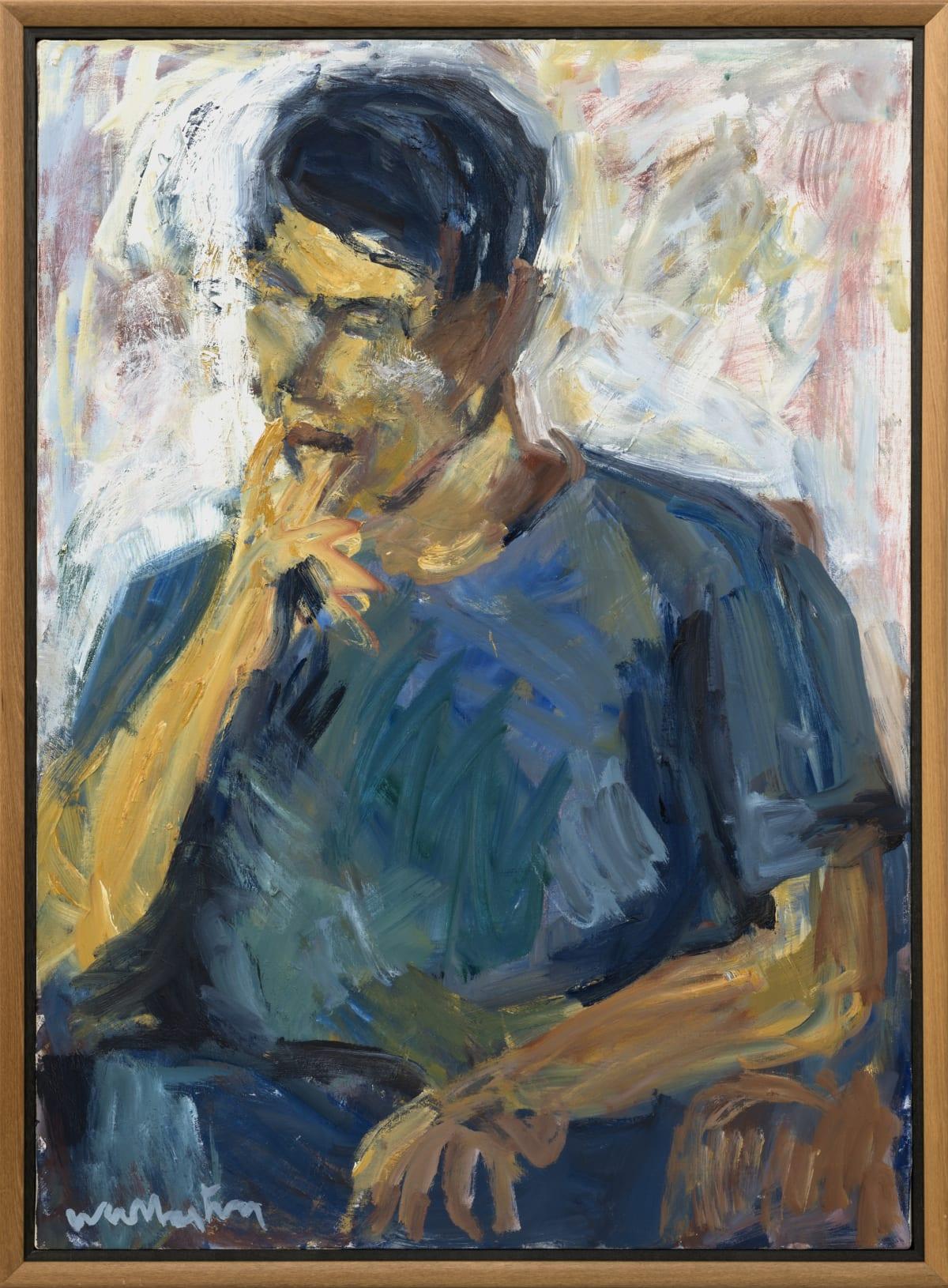 Mountford Tosswill Woollaston, Untitled [Portrait of a Man], n.d.