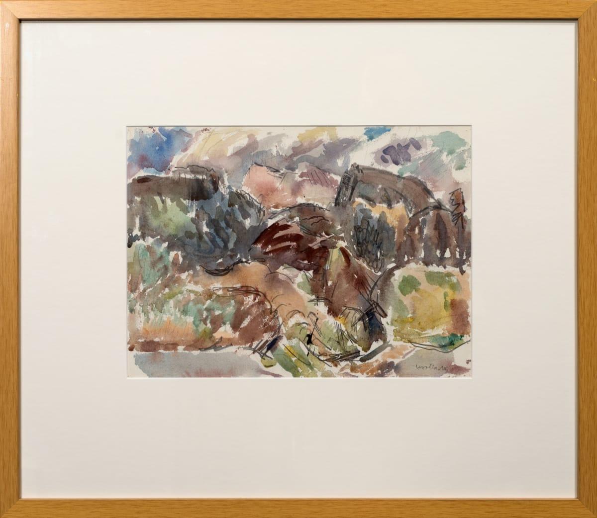 Mountford Tosswill Woollaston, Untitled [Landscape] (3), n.d.