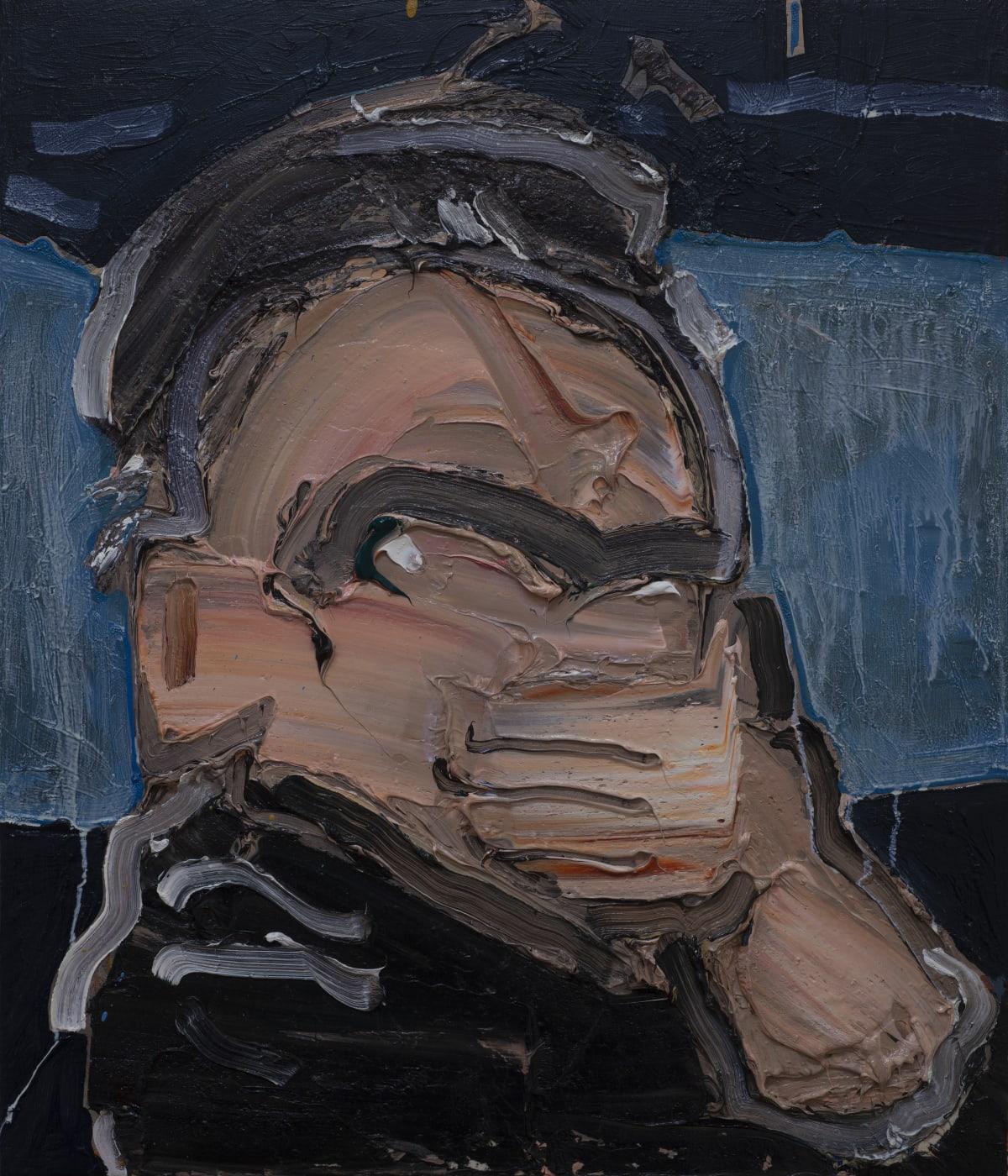 Toby Raine, Dennis Hopper's Gas Mask (Hopper as Frank in 'Blue Velvet'), 2019