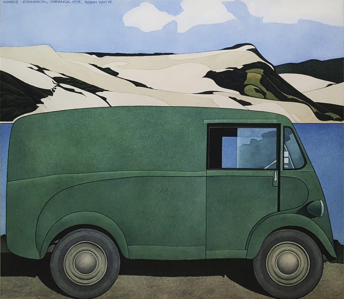 Robin WHITE, Morris Commercial, Hokianga, 1978