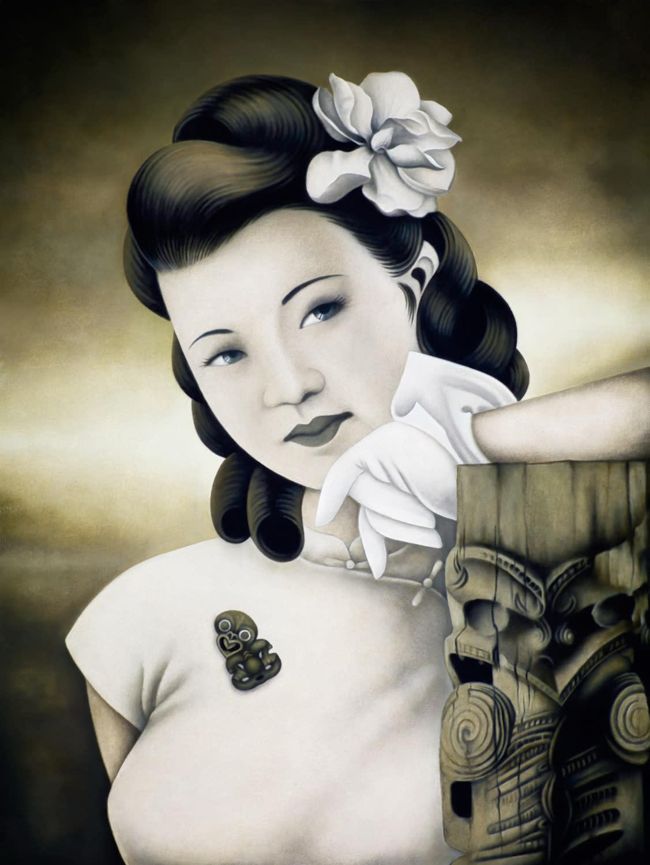 Heather STRAKA, Kia Ora (framed), 2012