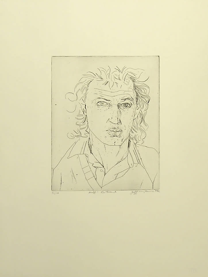 Jeffrey Harris, Self Portrait, 1982