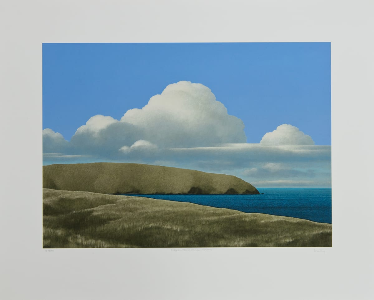 Brent Wong, Field, Peninsula, Clouds, n.d.