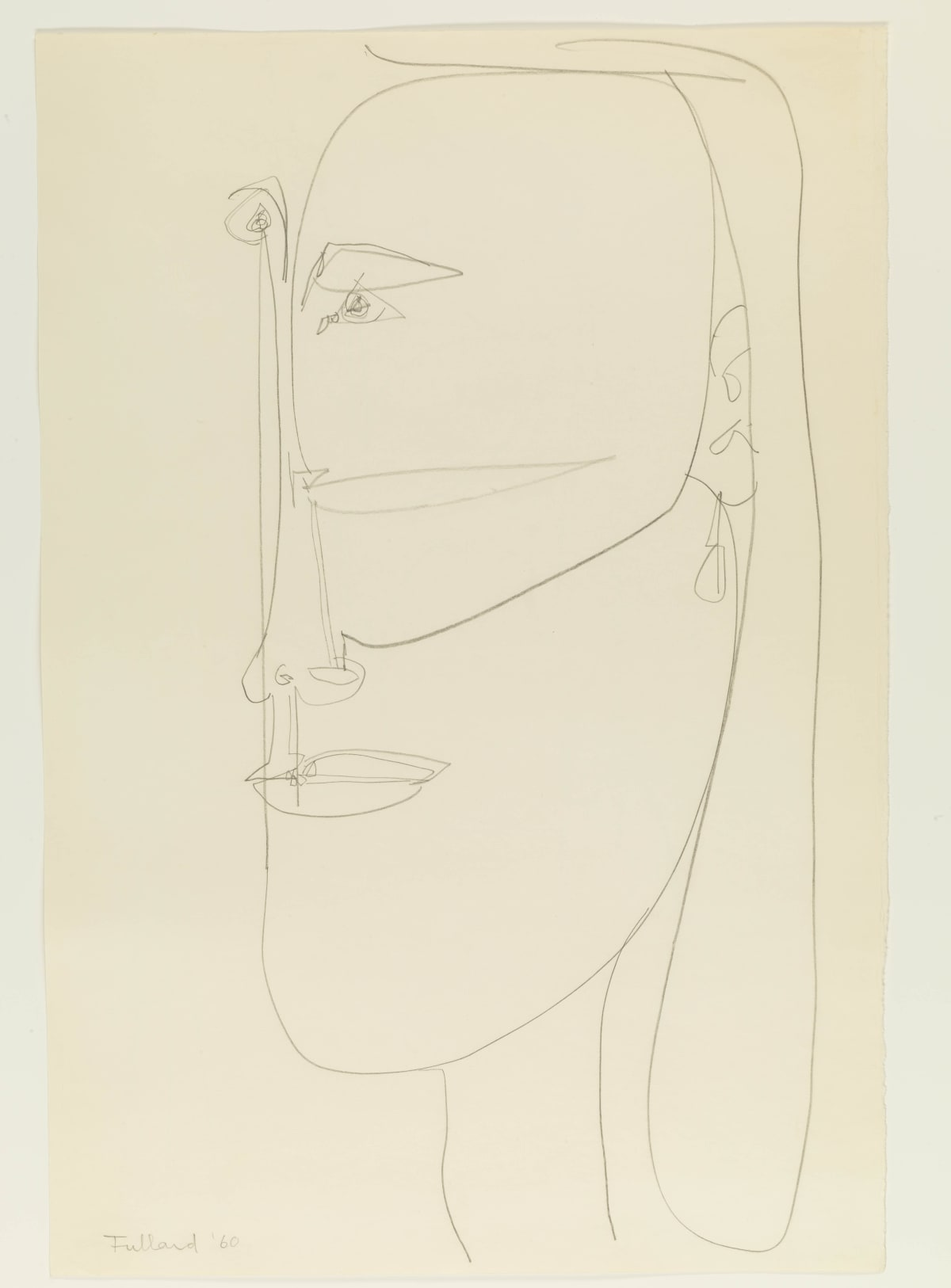 George Fullard, Head, 1960