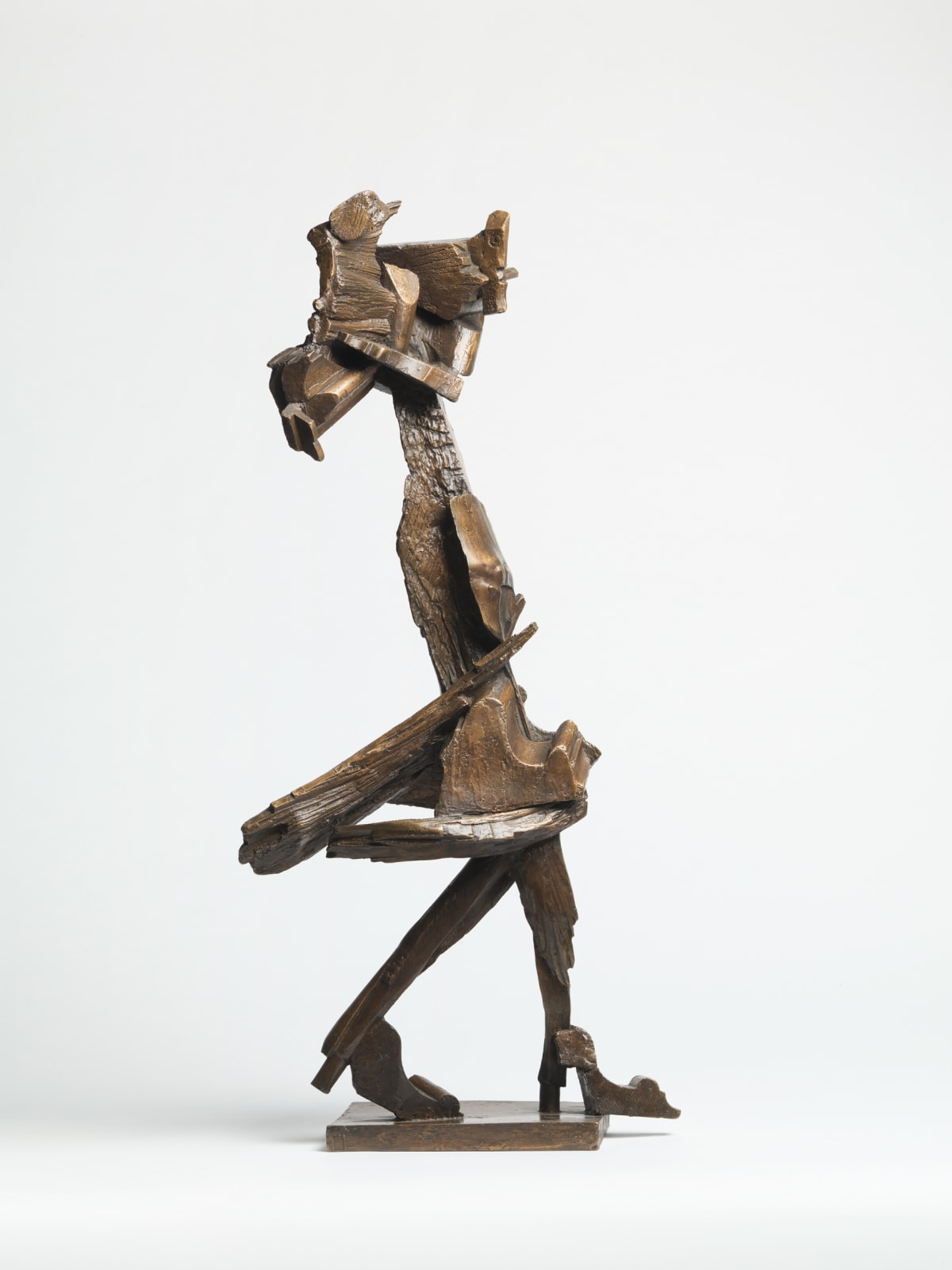 George Fullard, Striding Woman and Child, 1959