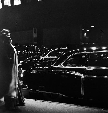 Eve Arnold Gala Opening, Metropolitan Opera, New York City, 1950 Gelatin Silver Print 16 x 20 inches; Frame 21 x 25 inches