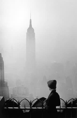 Elliott Erwitt New York City, [Empire State Building], 1955 Gelatin silver print 20 x 16 inches/Frame size 24 x 20 inches