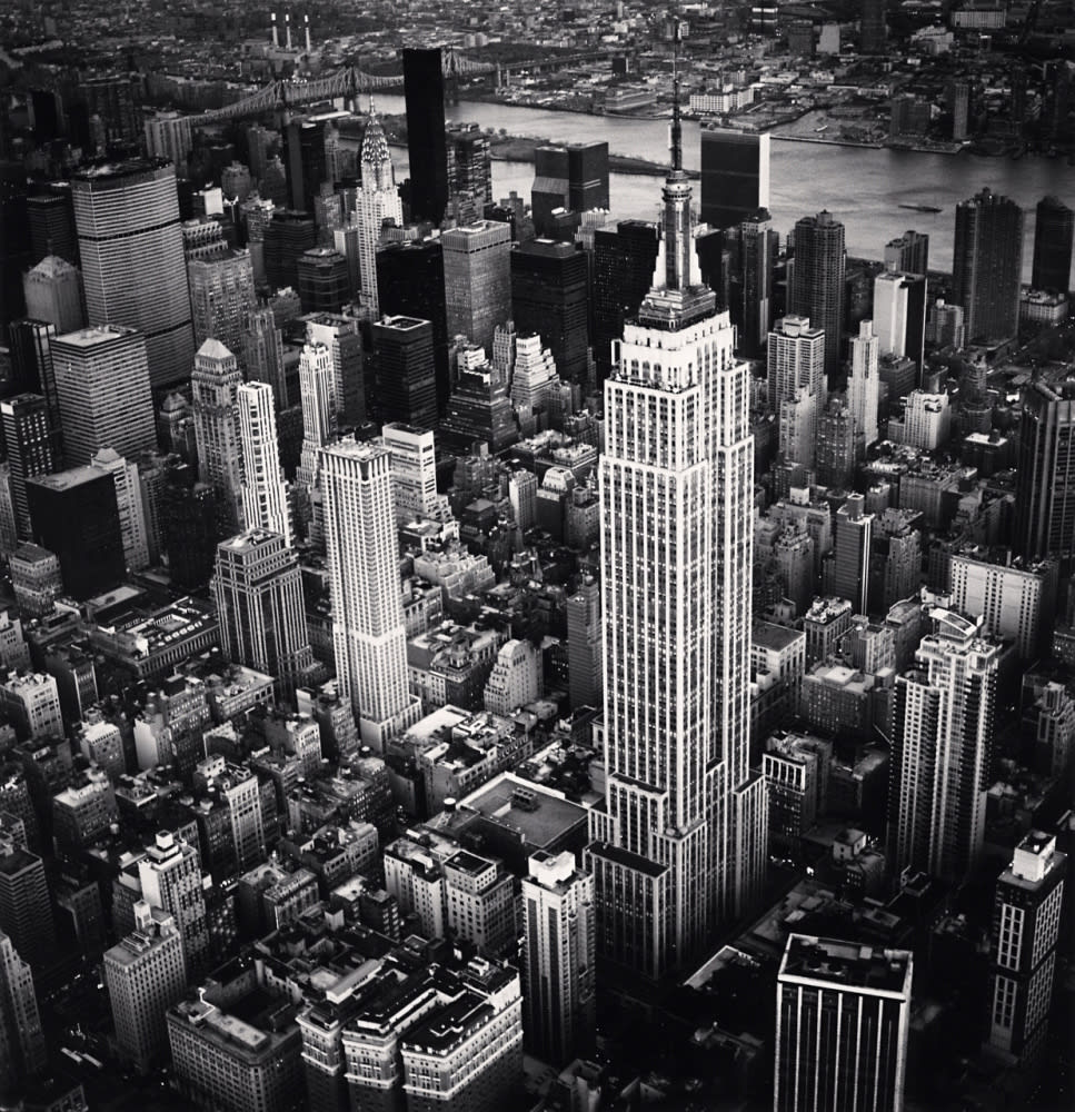 Michael Kenna Empire State Building, Study 6, New York, NY, 2010 Gelatin Silver Print Image Dimensions: 16 x 16 inches Matted Dimensions: 24 x 22inches Edition 4 of 4