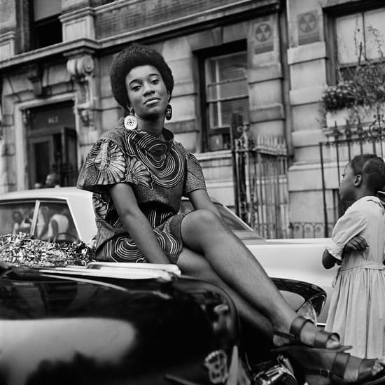 Kwame Brathwaite, Untitled (Pat on Car), 1968, printed 2016