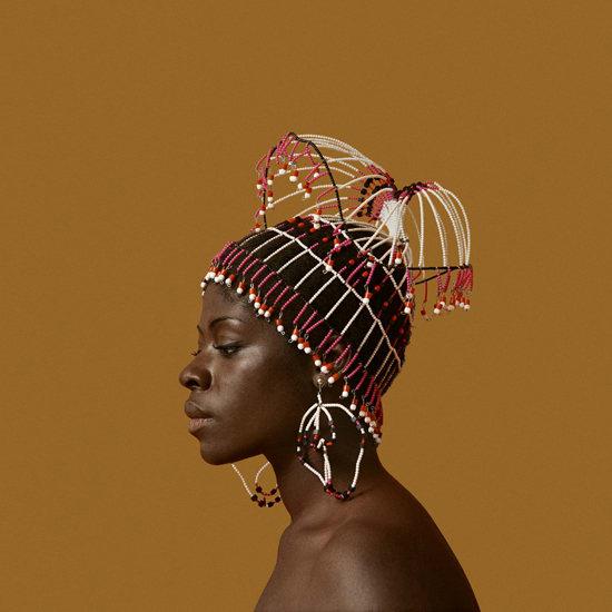 Kwame Brathwaite, Untitled (Sikolo Brathwaite with Headpiece designed by Carolee Prince), 1968, printed 2017