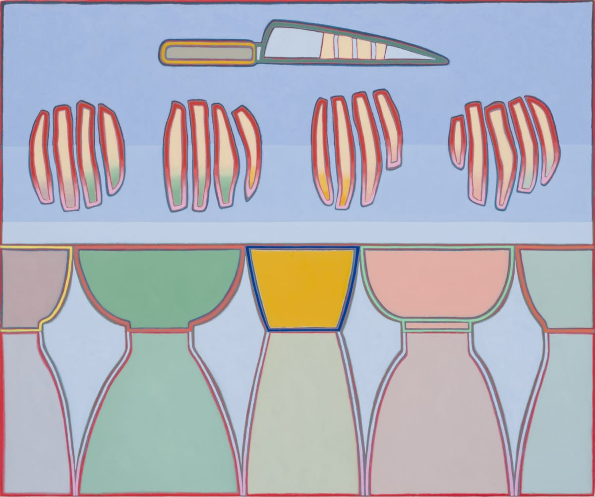 Holly Coulis, Knife, Potatoes (for French Fries), Bowls, 2017