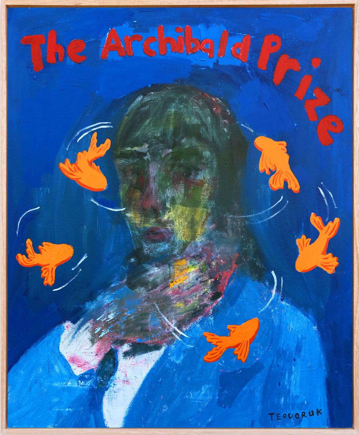Brad Teodoruk, The Archibald Prize, 2019
