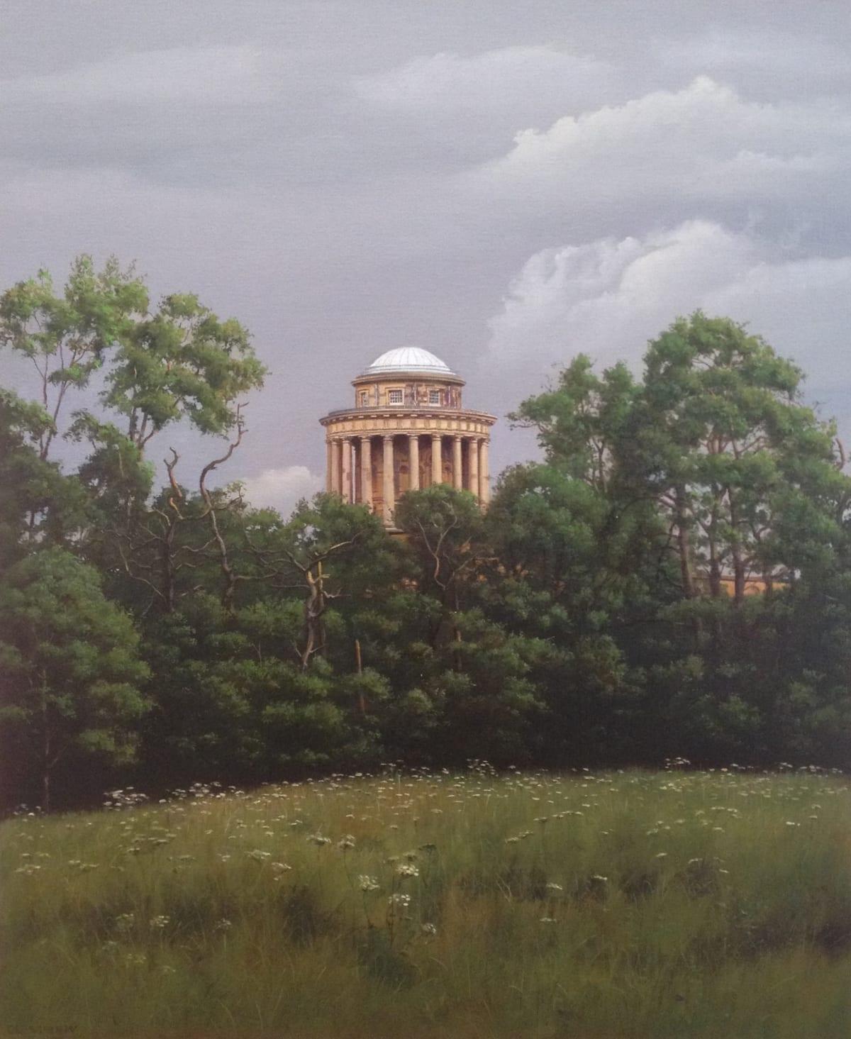 Carl Laubin Farewell to Castle Howard Oil on canvas 60 x 50 cm