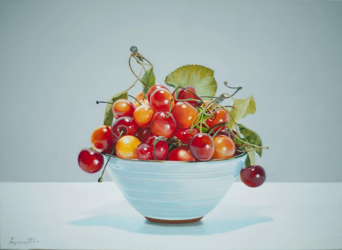 Francesco Stile Passione Oil on canvas 55 x 75 cm