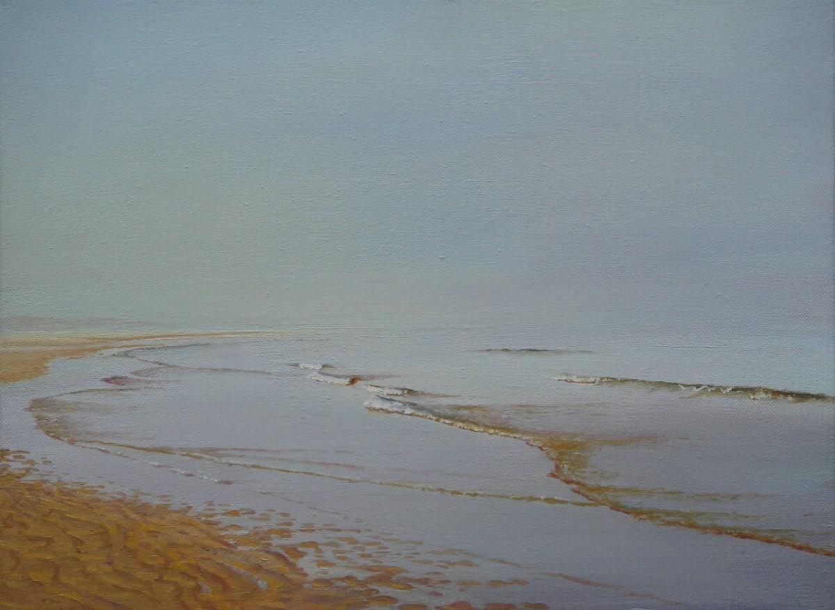 Carl Laubin Holkham Sands oil on canvas 30 x 40.5 cm