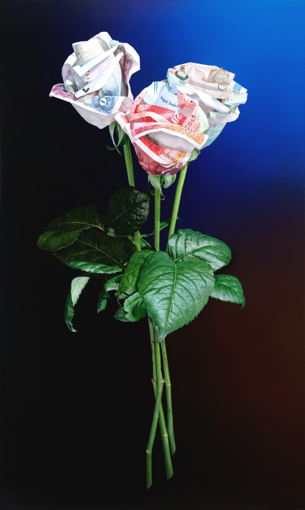 Tom Martin Buy Me Love Acrylic on aluminium composite panel 90 x 150 cm