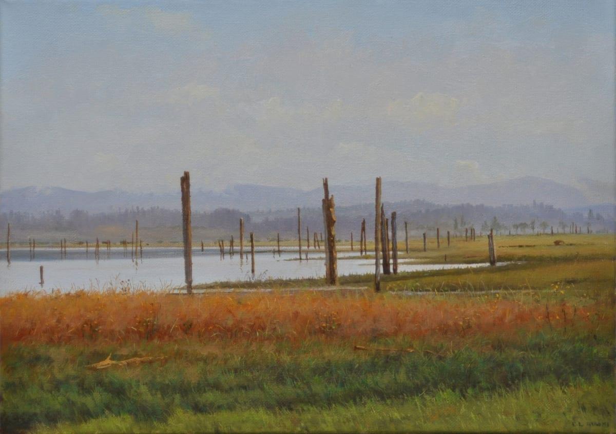 Carl Laubin The English Boom Company, Camino Island Oil on canvas 25 x 35 cm