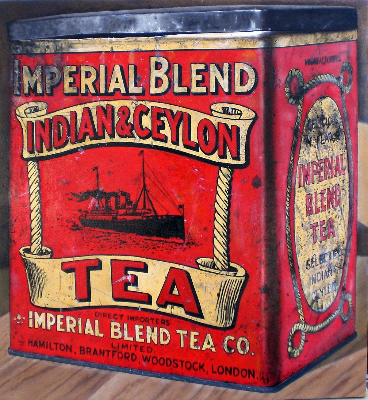 Cesar Santander Imperial Blend oil and acrylic on canvas 84 x 92 cm
