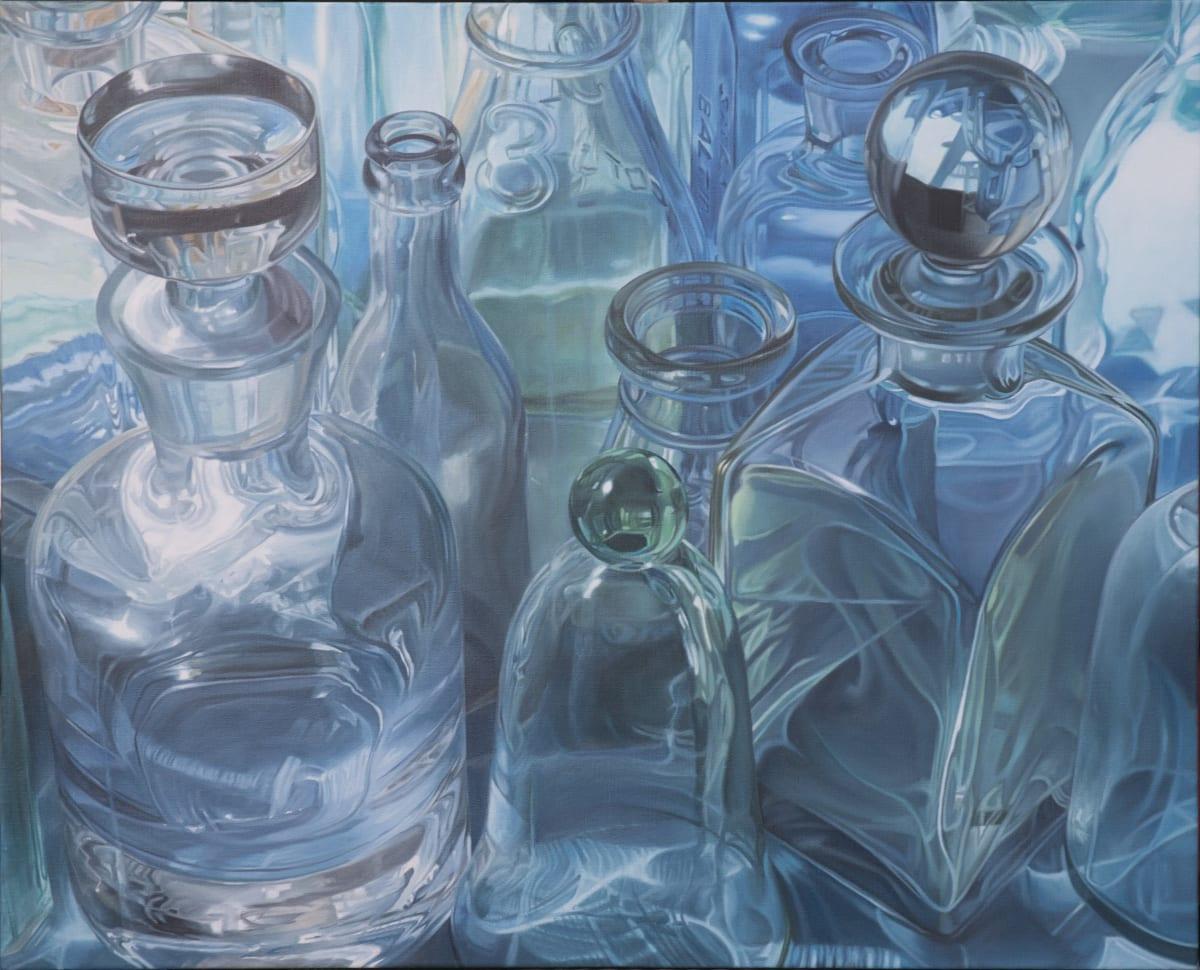 Steve Smulka True Blue Oil on canvas 86 x 107 cm