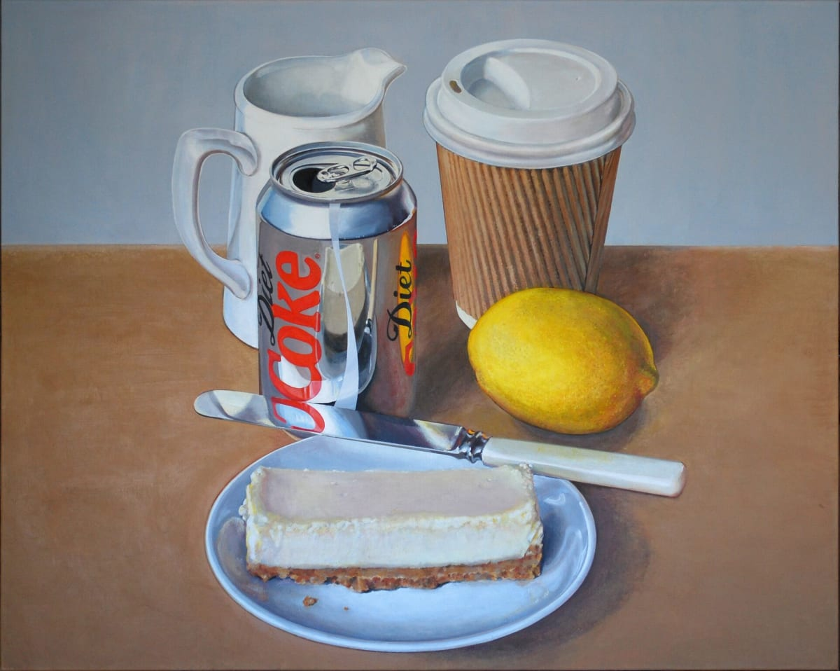 Cynthia Poole Deliberate Arrangements 1 Acrylic on canvas 80 x 100 cm