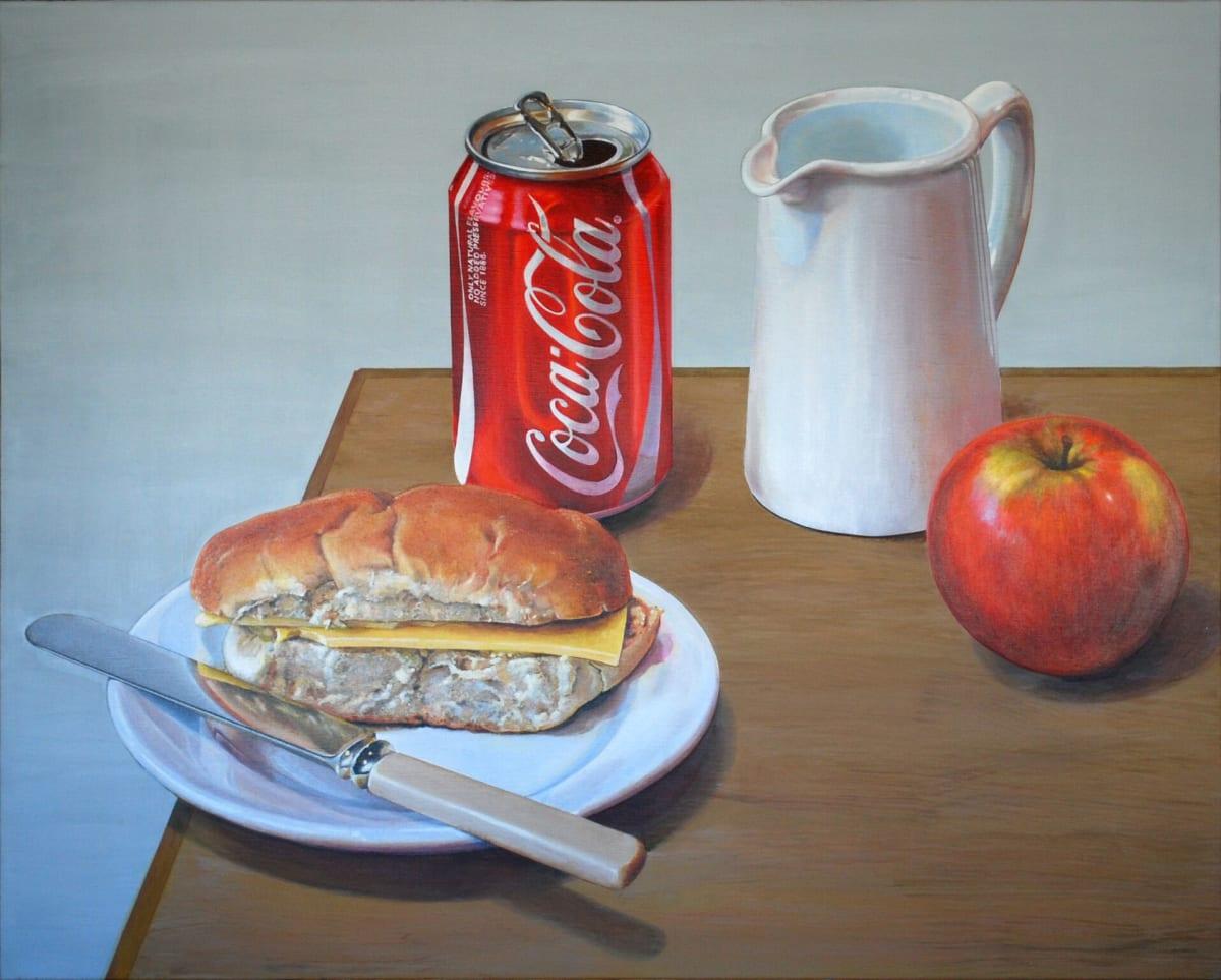 Cynthia Poole Deliberate Arrangements 2 Acrylic on canvas 80 x 100 cm
