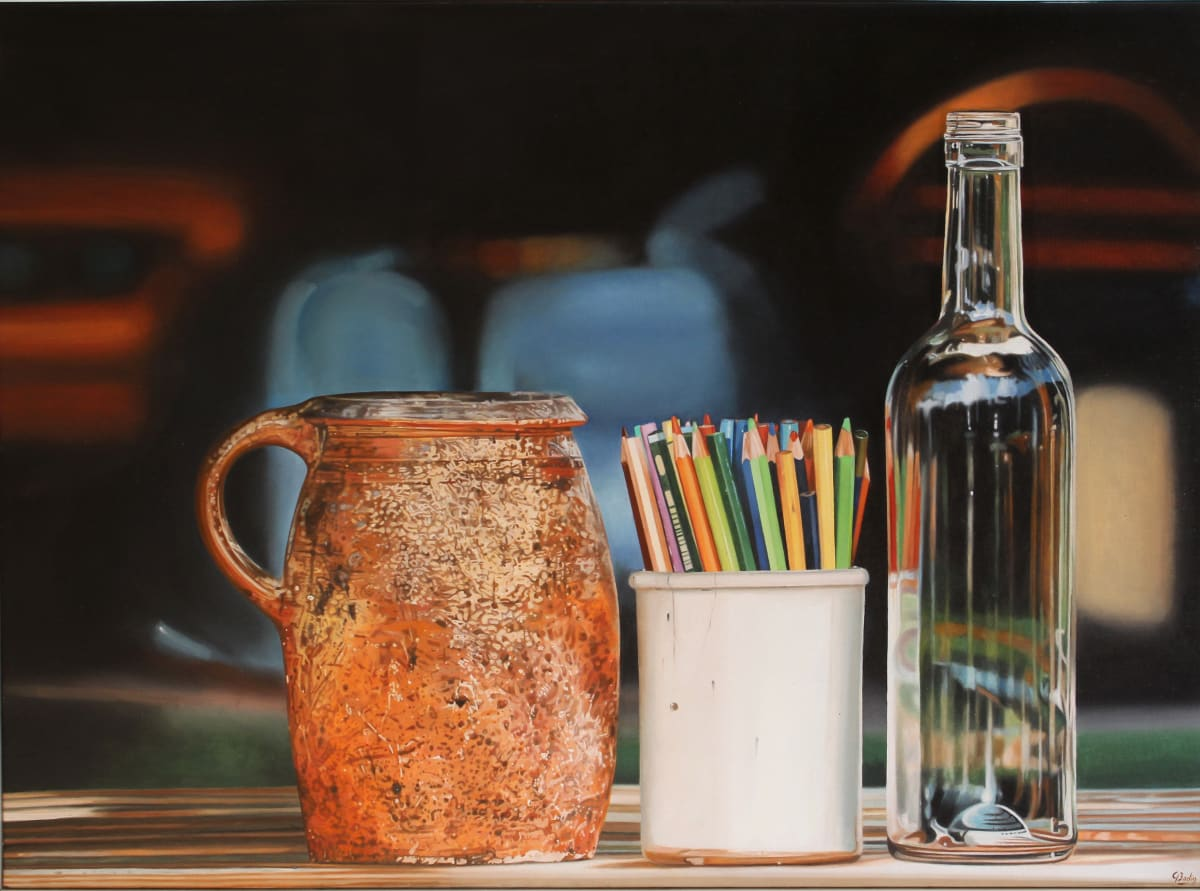 Jacques Bodin Wine and Water Oil on canvas 96 x 130 cm