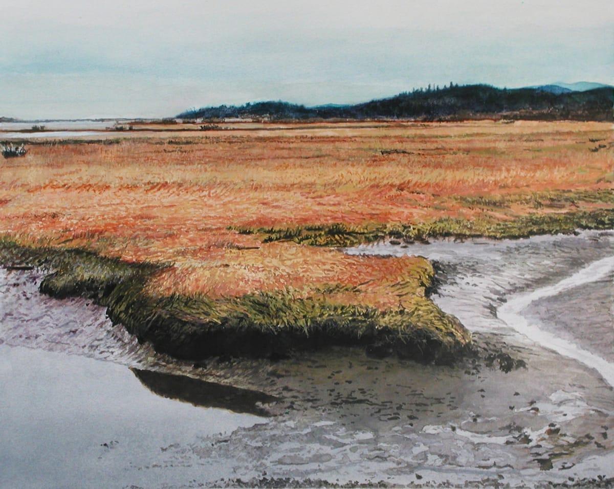 James Van Patten Anybody's Coast Watercolour paper 27 x 34 cm