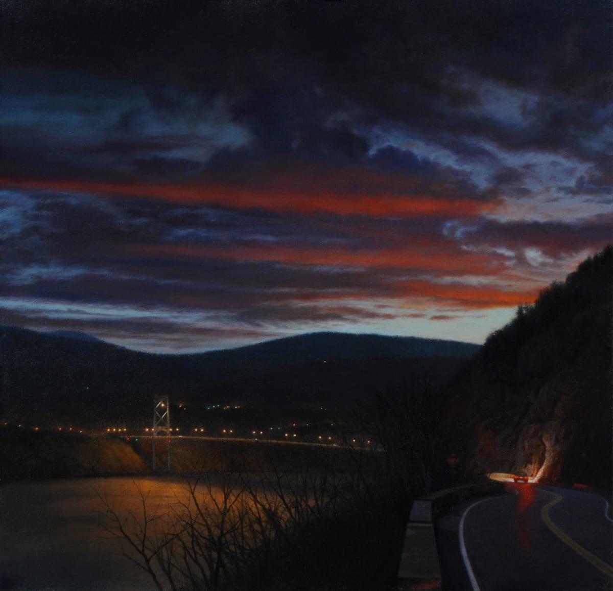 "Stephen Fox Fade Oil on canvas 24 x 25"" - 2010 63.5 x 61 cm"