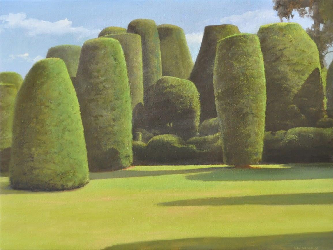 Carl Laubin The Multitude, Packwood, 2015 Oil on canvas 30.5 x 40.5 cm