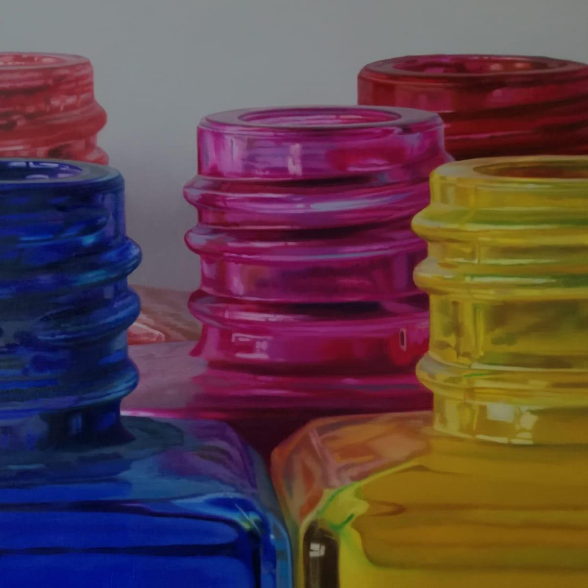 Javier Banegas Colour Fragment Oil on canvas 50 x 50 cm