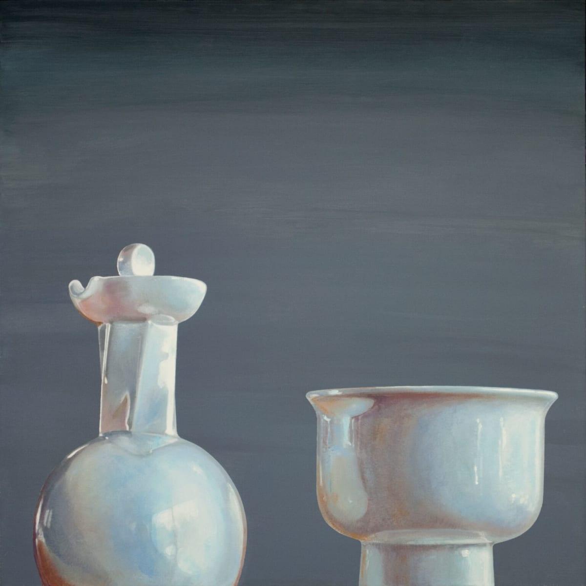 Cynthia Poole Metafisica I Acrylic on canvas 76 x 76 cm