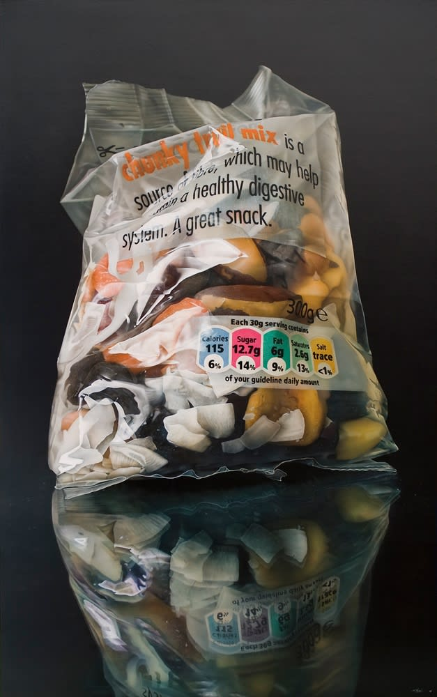 Tom Martin Another Source acrylic on board 180 x 110 cm