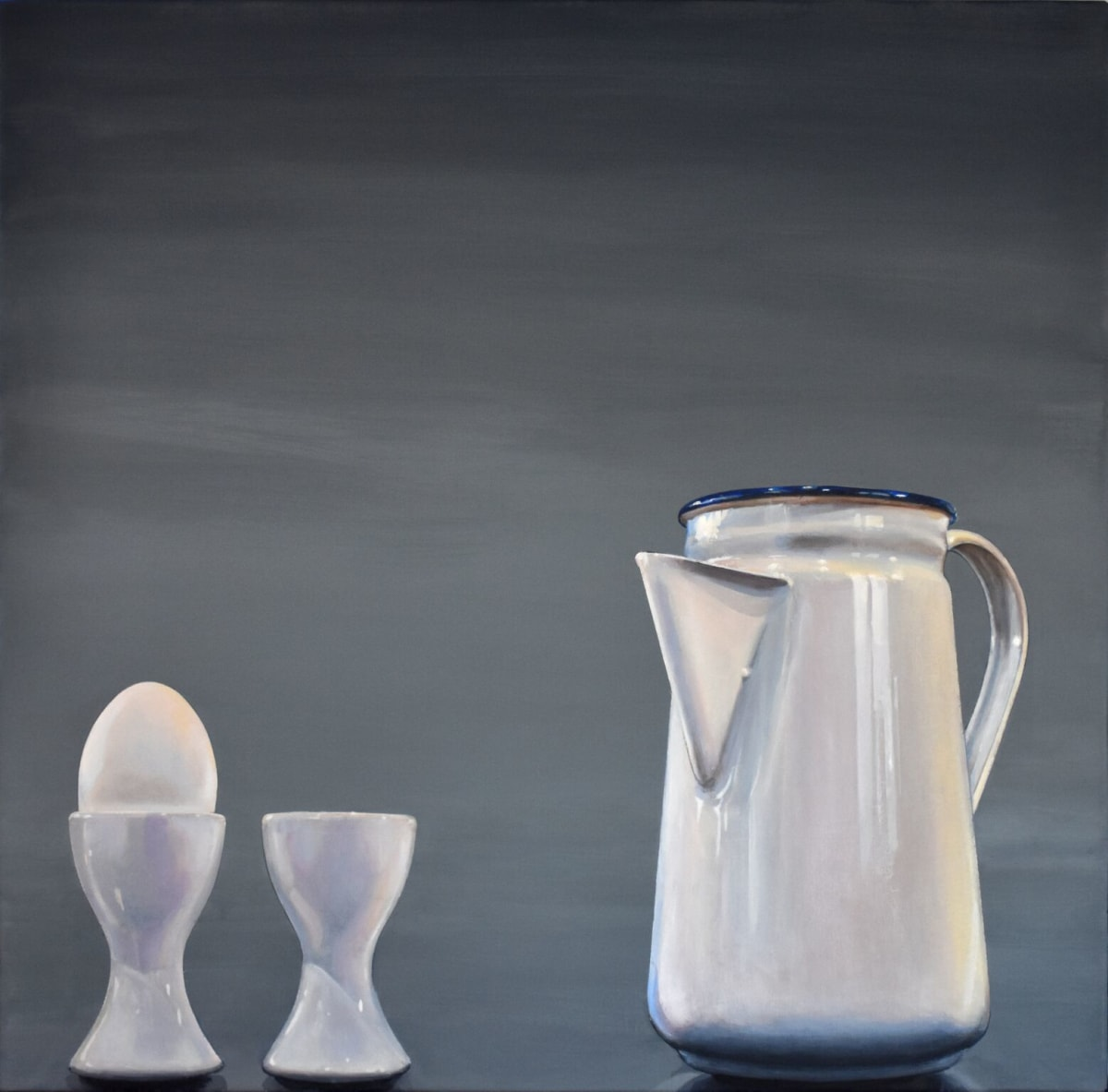 Cynthia Poole Metafisica III Acrylic on canvas 76 x 76 cm