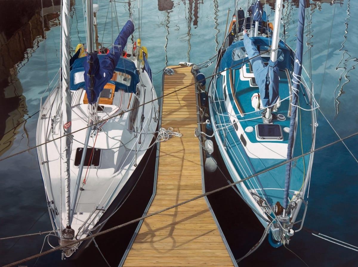David Finnigan Telstar Oil on linen 120 x 160 cm