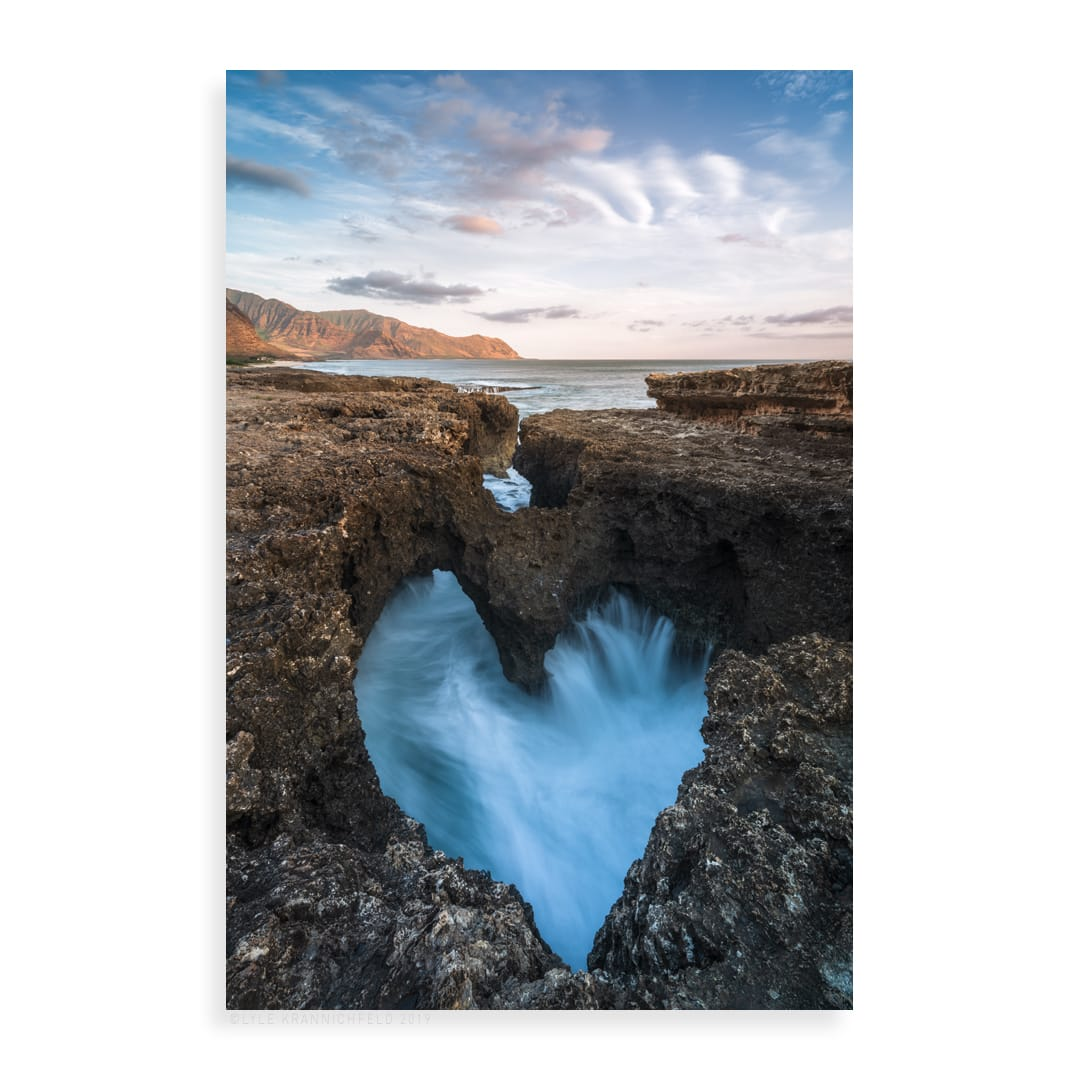 Lyle Krannichfeld My Heart is in Hawaii Aluminum, lumachrome Multiple sizes available Limited edition