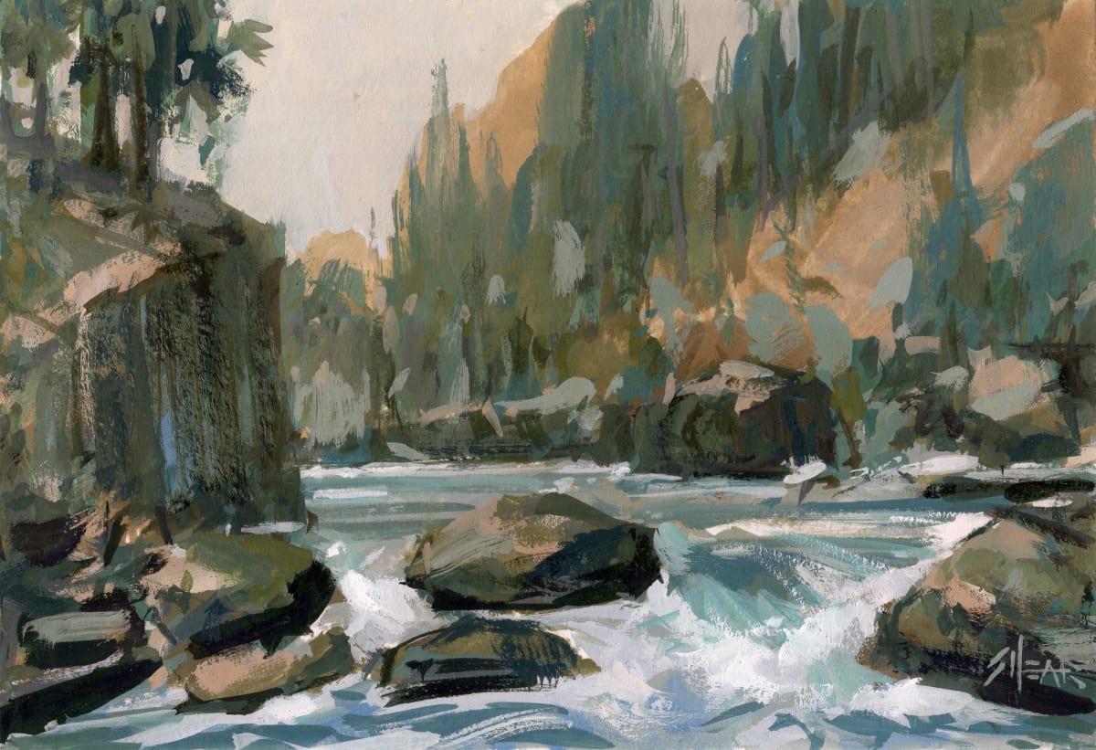 Jared Shear, Gentle Cascade, 2019