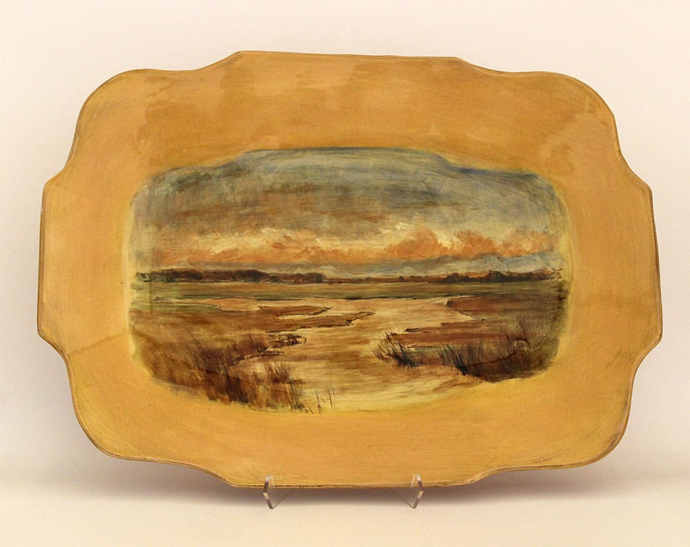Mary Briggs, Platter