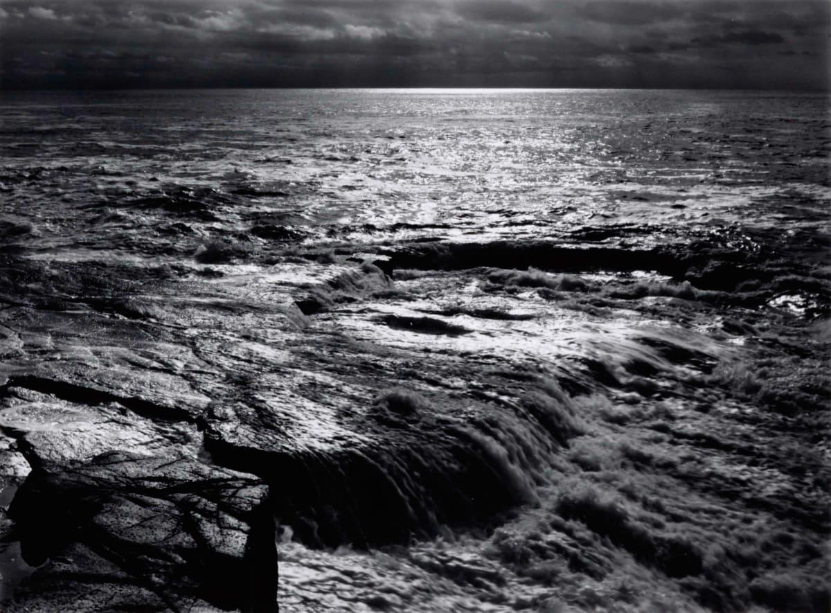 Ansel Adams, The Atlantic, Schoodic Point, Acadia National Park, Maine, 1949