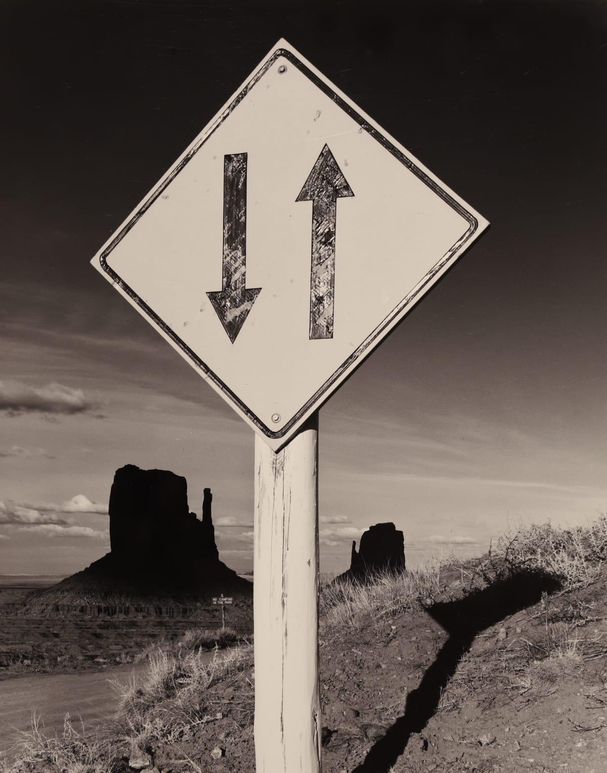 Bob Kolbrener, Arrows, Monument Valley, 1980