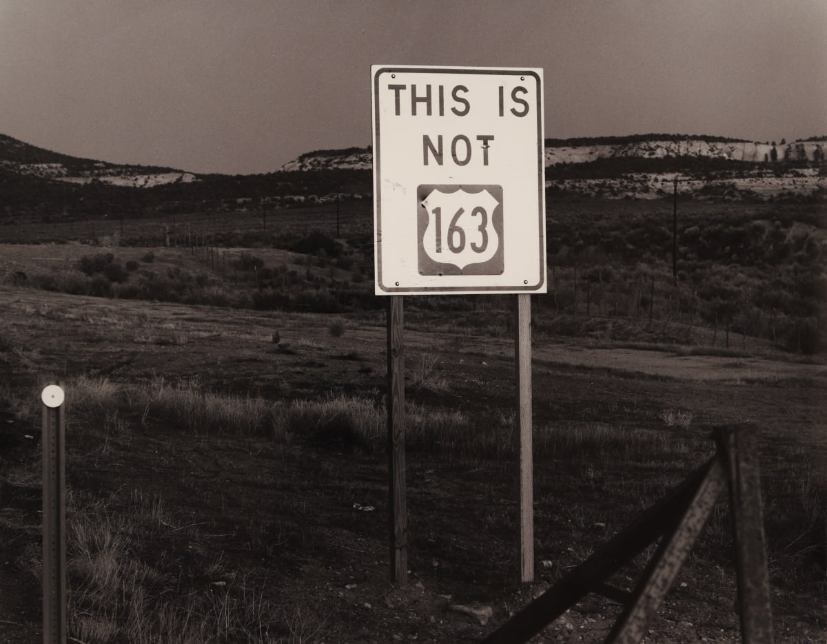 Bob Kolbrener, This Is Not 163, Utah, 1978