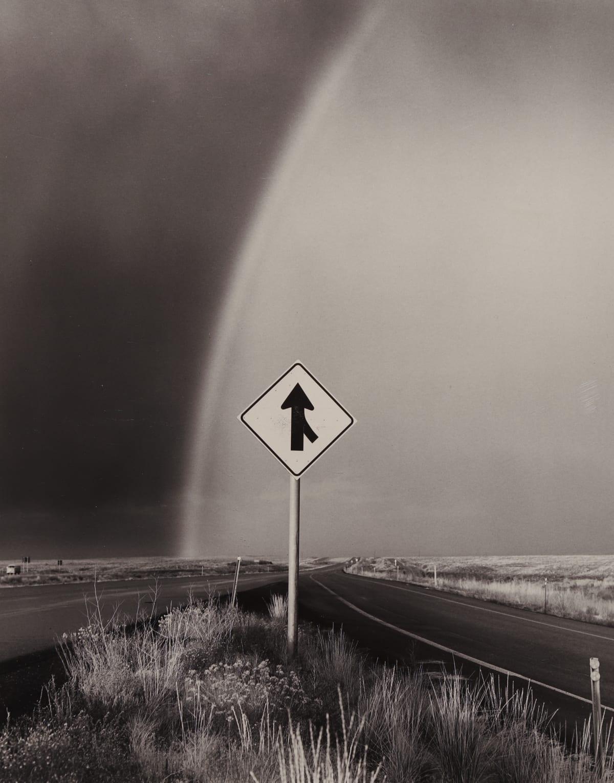 Bob Kolbrener, Rainbow and Arrow, Utah, 1979