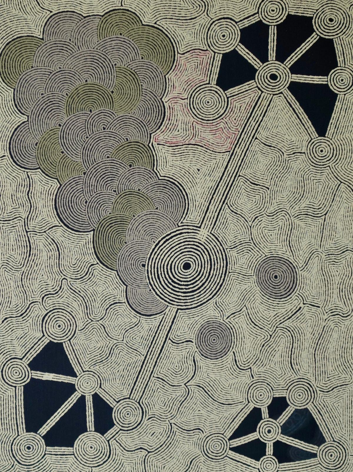 Alison Anderson Uluruba acrylic on linen 122 x 92 cm