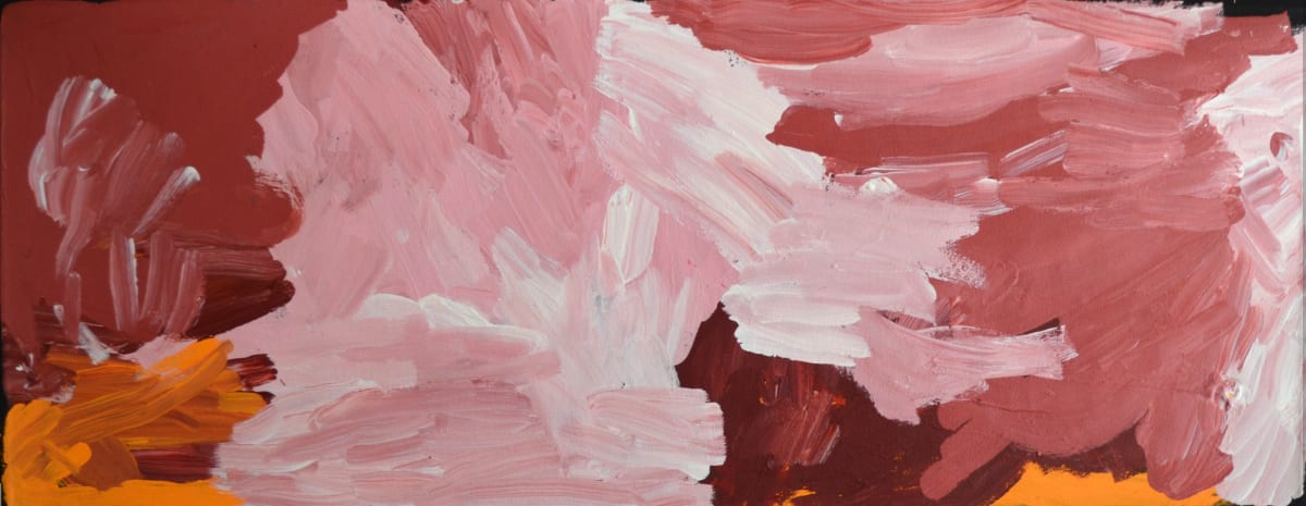 Manupa Butler Mina Mina acrylic on canvas 38.1 x 101.6 cm