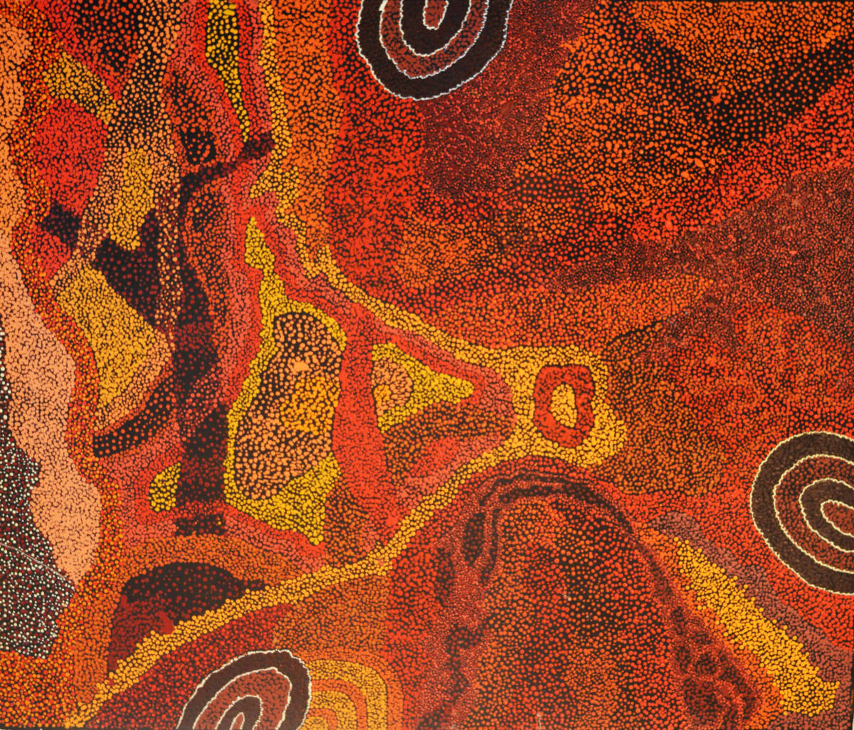Marita Baker Kalaya Tjukurpa acrylic on canvas 120 x 100 cm