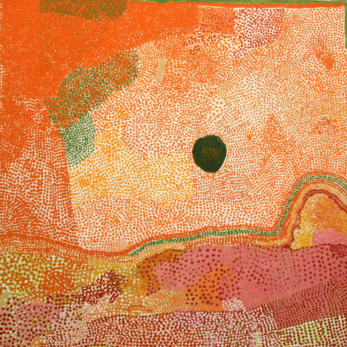 Rosie Goodjie Nyimi acrylic on canvas 120 x 120 cm
