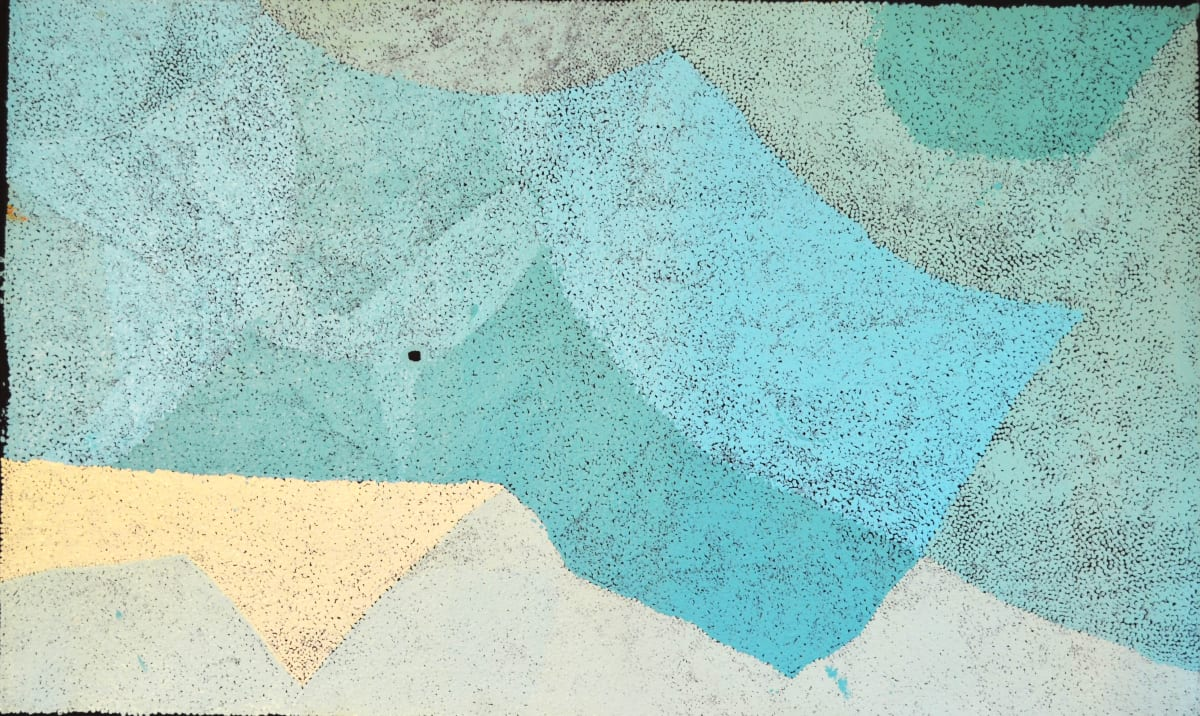 Pepai Jangala Carroll Walungurru acrylic on canvas 90 x 150 cm