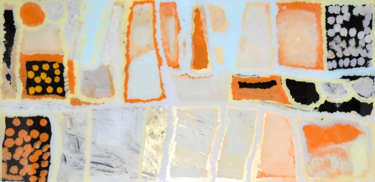 Daisy Japulija Billabongs acrylic on polycarbonate 60 x 120 cm