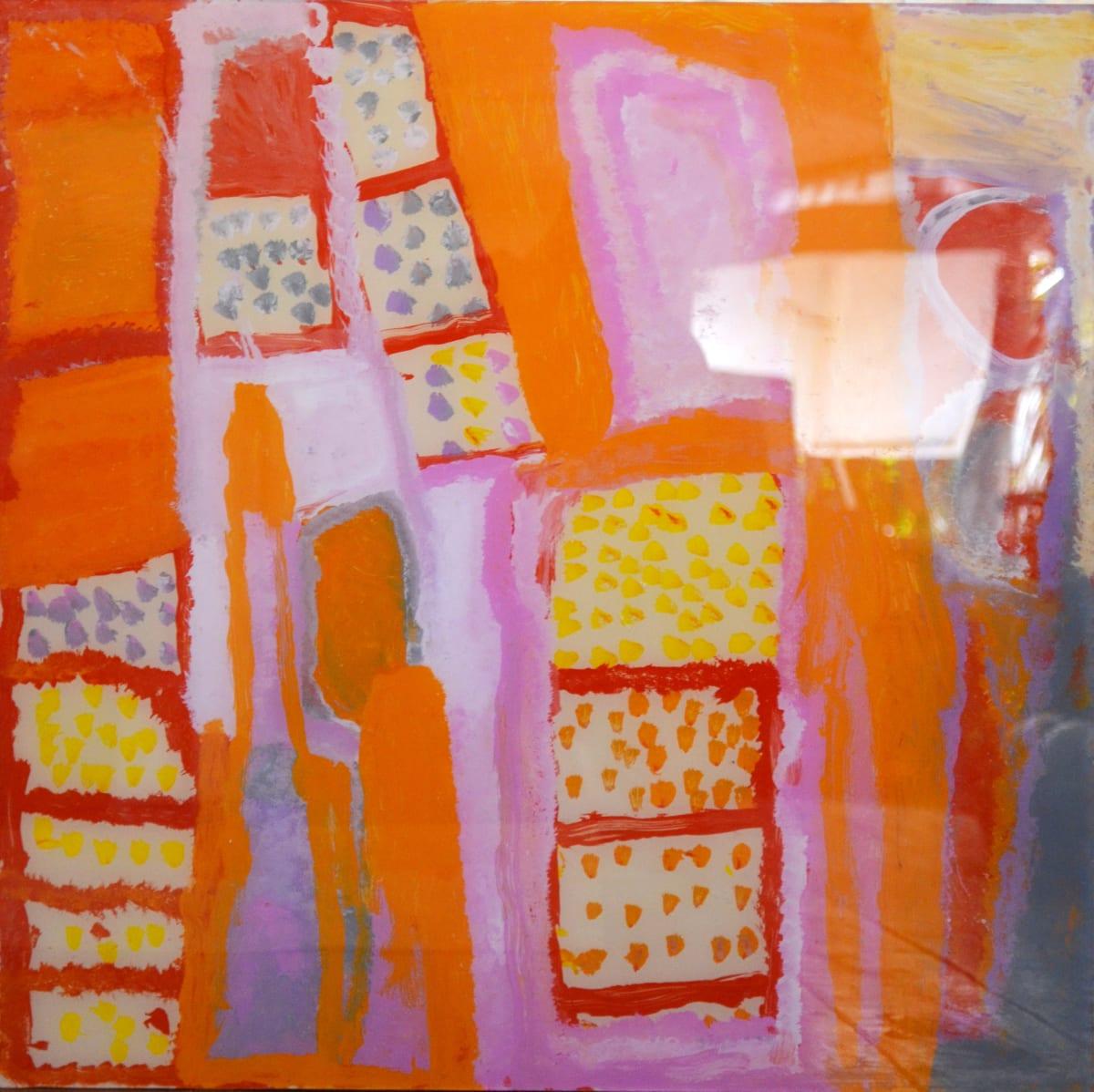 Daisy Japulija Billabongs acrylic on polycarbonate 60 x 60 cm